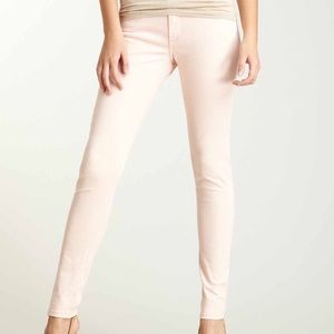 Denim - James Jeans peach skinny size 25